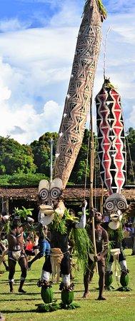 East New Britain, Papua New Guinea: Festival des masques : Kilenge