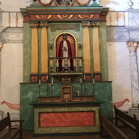 Beautiful Mission, especially the altar!