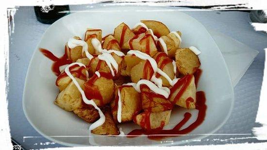 Tapa de patatas bravas!¡!