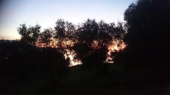 Ischitella, อิตาลี: tramonto