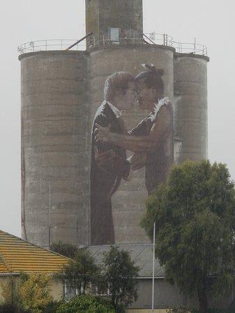 Waimate, New Zealand: Silo Art