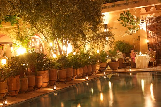 Salle Du Jardin Picture Of Restaurant Of La Maison Arabe - Jardin-arabe