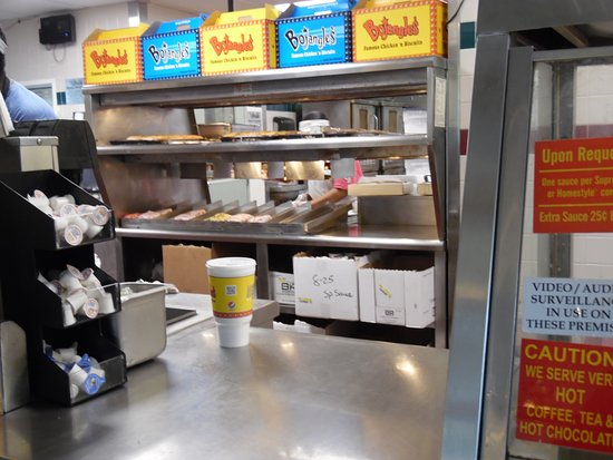 Food Bins Picture Of Bojangles Famous Chicken N Biscuits