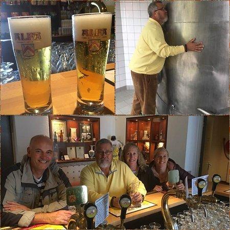 Schinnen, Nederländerna: Rondleiding brouwerij en proeven in het proeflokaal