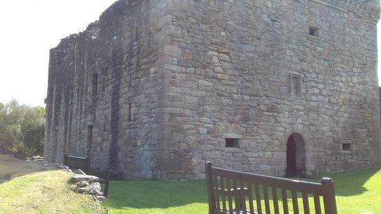 Craignethan Castle: castle keep
