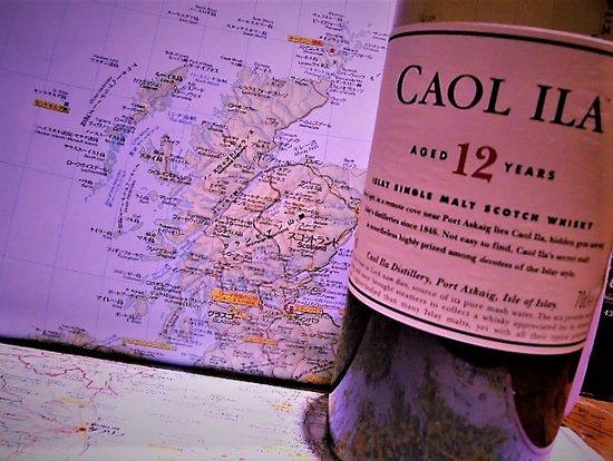 カリラ12年、スコットランド、アイラ島のウイスキーです。