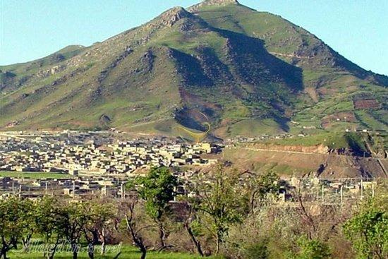 Baneh, Iran: Arbane mountain