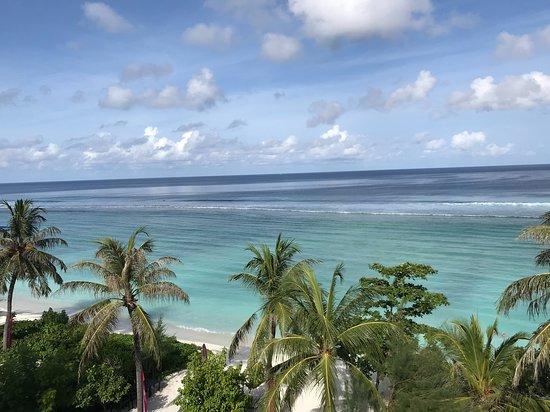 Kaafu-atollen: Vistas desde la Terraza del hotel