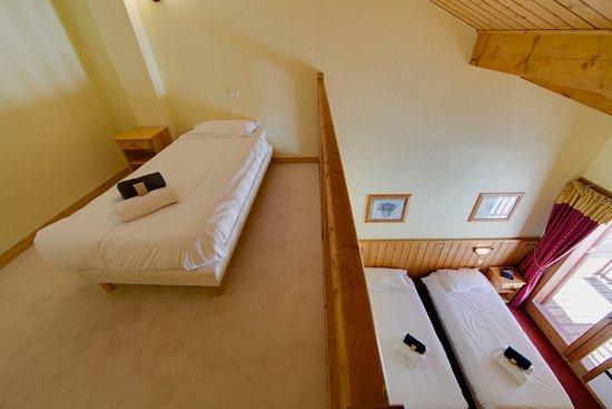 Vallandry, Frankreich: All rooms are en-suite (most have balconies)