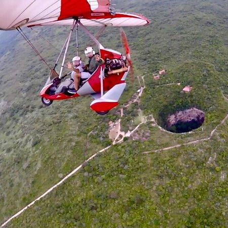 Ocozocoautla de Espinosa, México: Increíble experiencia volar sobre la Sima de las Cotorras