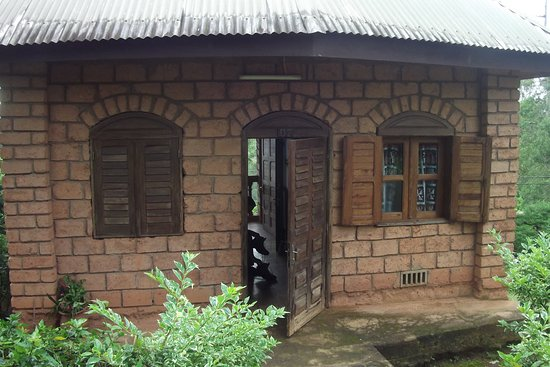 Dschang, Kamerun: Le boukarou (bungalow traditionnel)
