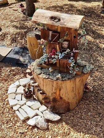 Avgorou, Кипр: Miniature Fairy House.
