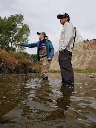 Edwards, CO: Flying for Brown Trout with guide Greg