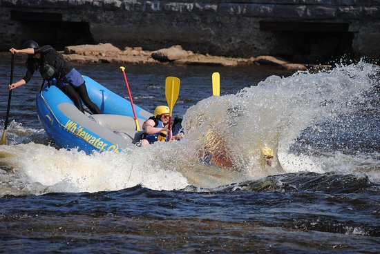 Weatherly, PA: Surfing a rapid