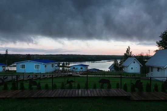 Leningrad Oblast, Ρωσία: Вид на озеро Еглино.