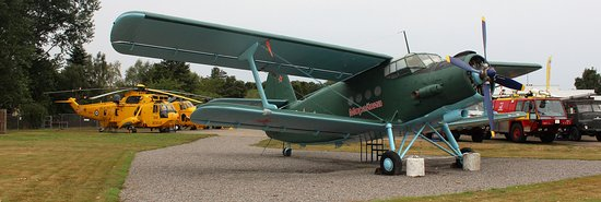 Morayvia: Part of the aircraft collection - all accessible to the public.