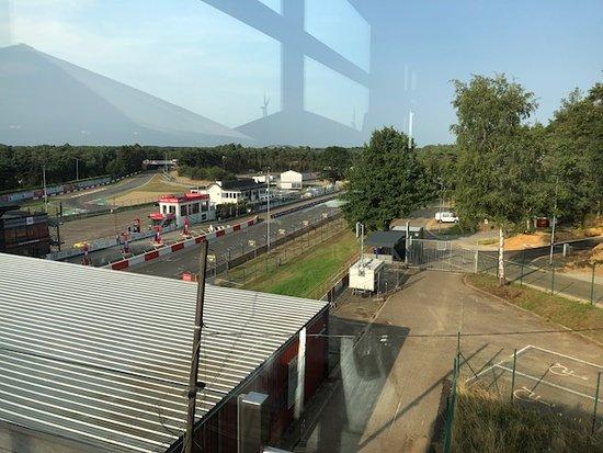 Zolder, Belgie: View from terrace P2