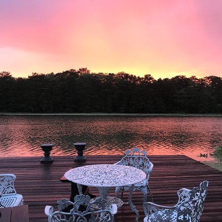 Pierre Part, لويزيانا: Sunset on Labelle Rivière