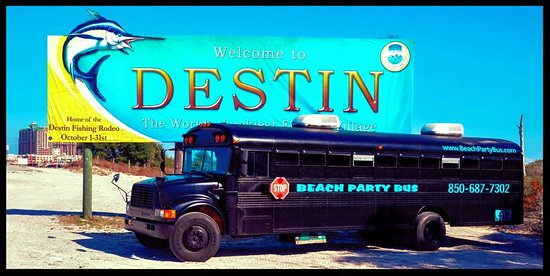 Beach Party Bus