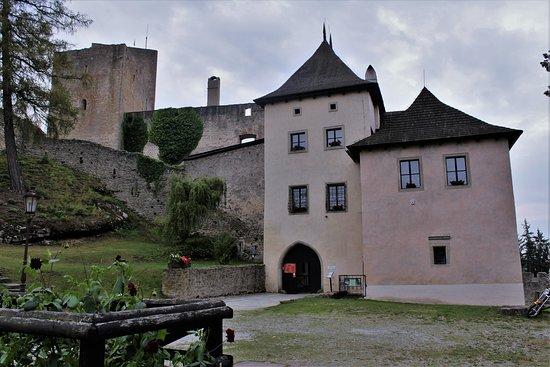 Slavonice, Tschechien: vstup do hradu Landštejn