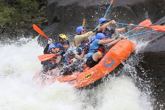 Adventures on the Gorge: Pillow Rock - Class V rapid.