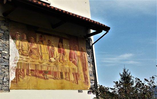 Arcumeggia, Włochy: affresco 5 (salvini)