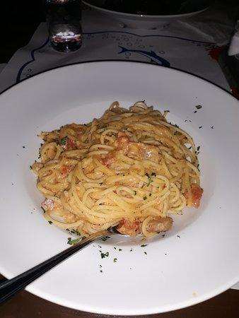 Restauracija Konavoka: pasta with tuna