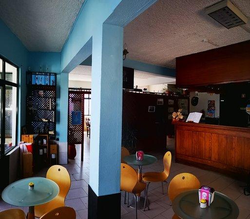 Faja da Ovelha, البرتغال: Restauranr O Precipicio