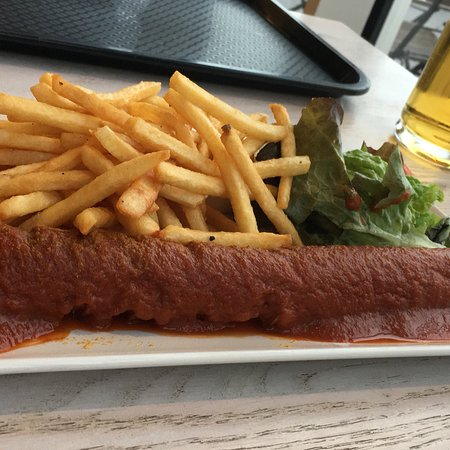 Wangerooge, Tyskland: Große Portionen und lecker !