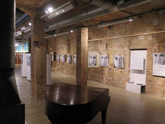 Centre Civic la Fabrica: La zona adibita a museo e mostra