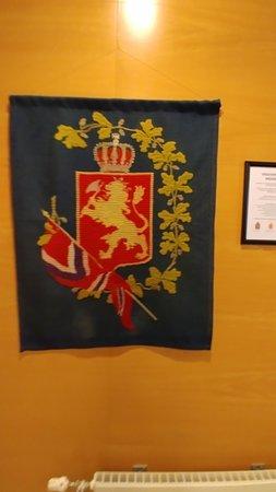 Avaldsnes, Νορβηγία: Viking Tapestry