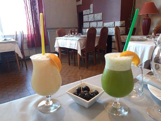 Hôtellerie de Balajan : Super cocktail