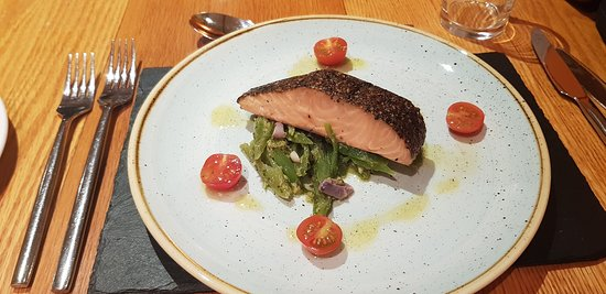 Bonar Bridge, UK: Salmon Pastrami