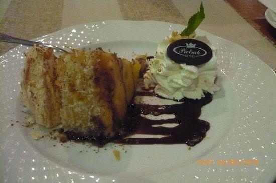 Pietrak: Apple pie with meringue