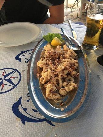 Kamenice: Calamari Fritti