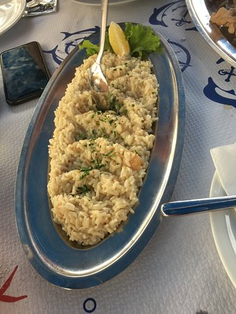 Kamenice: Shrimp Risotto
