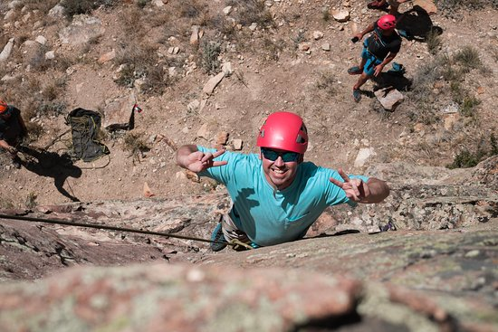 Avon, Kolorado: Great times on a Vail Rock Climbing Trip