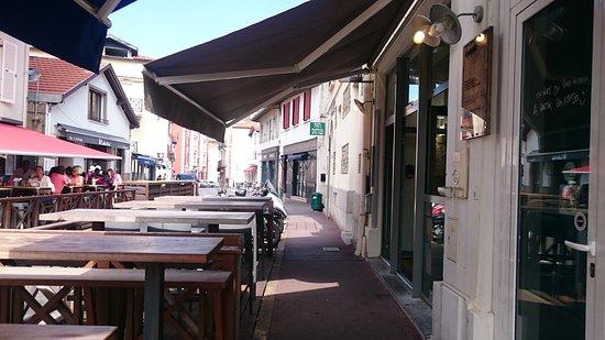 CIBO Pizzeria: Terrasse