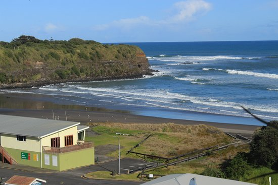 Opunake, นิวซีแลนด์: Vista spiaggia