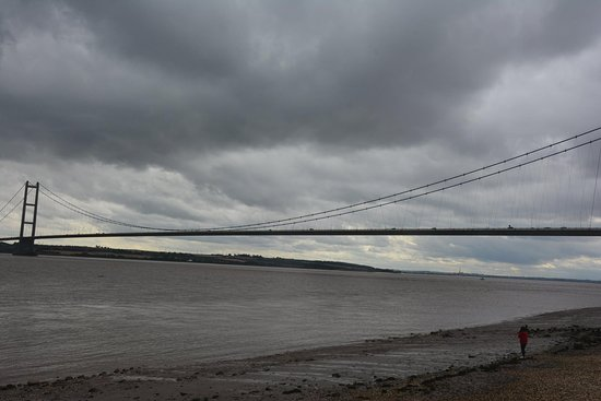 The Humber Bridge: View from Hessle Foreshore