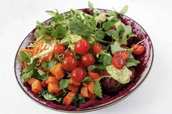 Lane Cove, Australien: Vegan 'poke' bowl