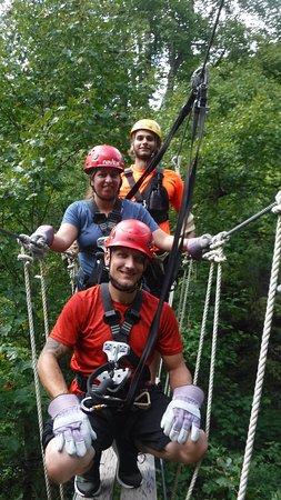 Barnardsville, Северная Каролина: Me, my husband, and Peter