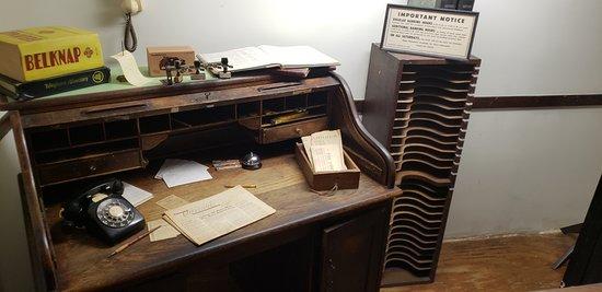 A. Schwab - old office desk