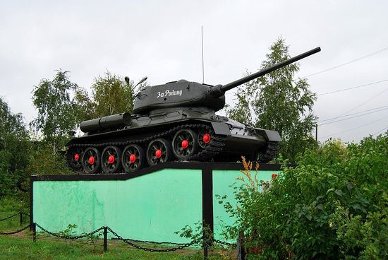 Tatarsk, Rosja: Т-34-85
