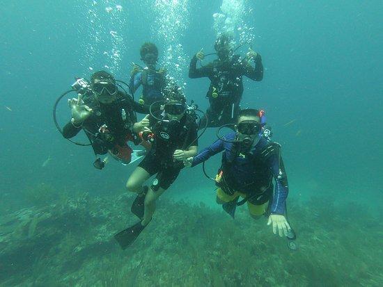 Scuba School And Family Dive Center: Scuba certification with Zain!