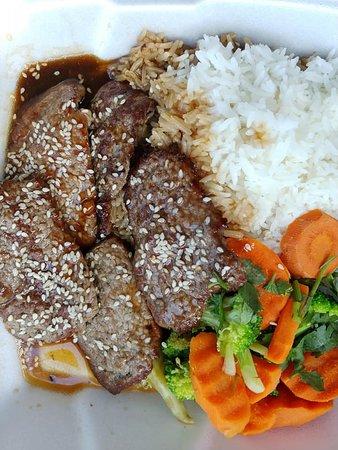 Indochine: Beef Teriyaki