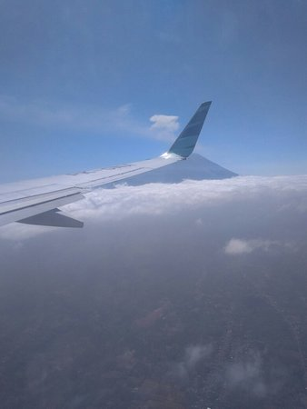 the view from garuda window picture of garuda indonesia tripadvisor rh tripadvisor com au