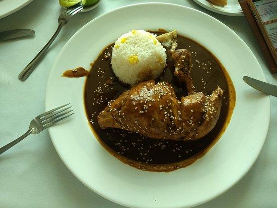 San Juan Bautista Tuxtepec, Meksyk: Pollo con mole