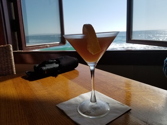 Cocktail and a view