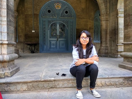 Rampur, Indien: Door